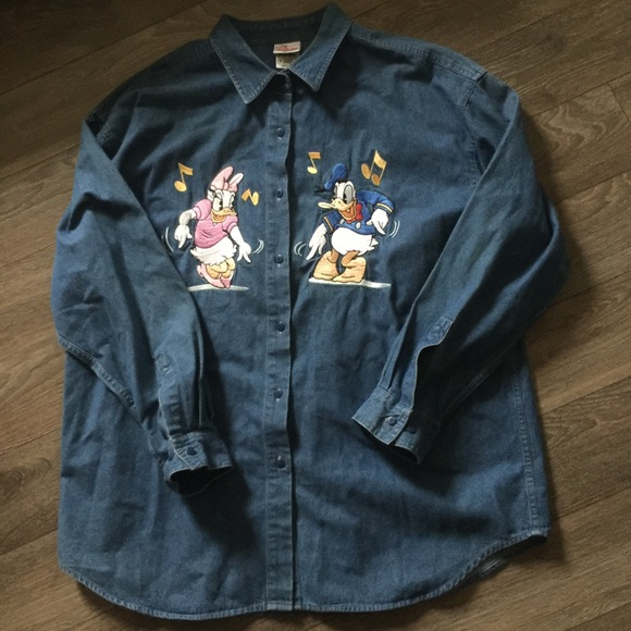 Donald and Daisy Duck Chambry XL Top